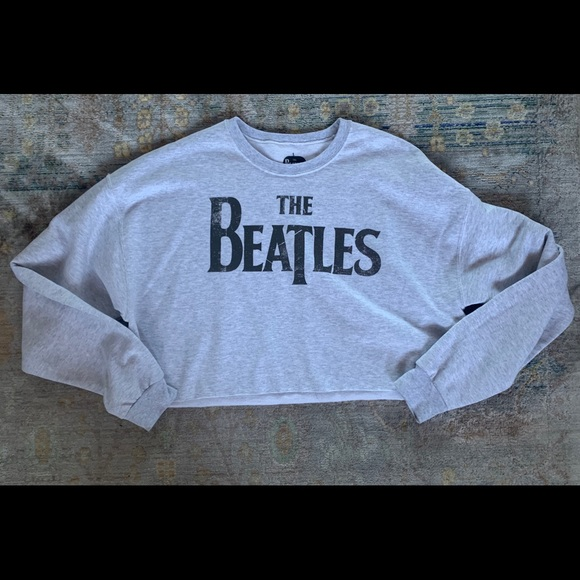 The Beatles Tops - NWOT cropped Beatles Shirt.